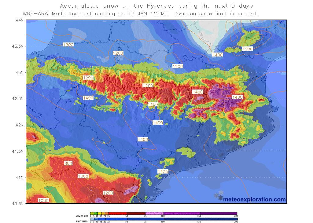 Espagne: la tempête Gloria fait au moins six morts