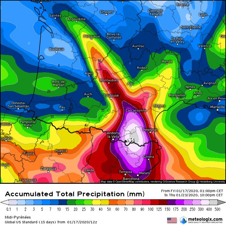 Espagne : La tempête